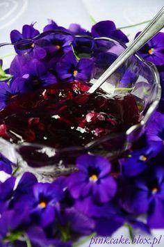 dżem fiołkowy, Konfitura z fiołków wonnych, violets jam, viola jelly, violets confiture, dżem z fiołków, konfitura fiołkowa Dessert Drinks, Cabbage, Herbs, Canning, Vegetables, Food, Essen, Cabbages, Herb
