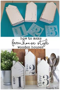 How to paint Thrifted Farmhouse Style Houses or make your Own, DIY and Crafts, Sharing a fun way to give dated wooden houses a sweet farmhouse Style. How to paint Thrifted Farmhouse Style Houses or make your Own Scrap Wood Projects, Woodworking Projects, Diy Projects, Scrap Wood Crafts, Rockler Woodworking, Woodworking Books, Woodworking Workshop, Woodworking Furniture, Funky Junk Interiors