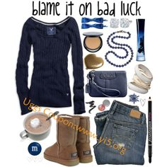ugg outfit, minus all the bs. Just the shoes, shirt, purse and jeans ,UGG factory Clearance Wholesale Fall Fashion Trends, Teen Fashion, High Fashion, Winter Fashion, Womens Fashion, Cozy Fashion, Fashion Outfits, Spring Fashion, Uggs For Cheap