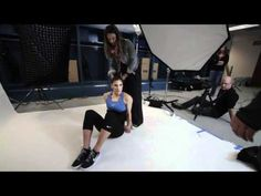 Hope Solo Shoot - Behind the Scenes