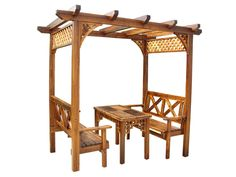 outdoor wooden furniture | Pavilion /Wooden Gazebo / Outdoor Furniture (SC-Y009)