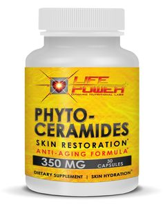Phytoceramides - By Life Power Labs 350 MG Of Highest Quality Plant Derived Ceramide Anti-Aging Skin Restoration Supplement. Dr.Oz Recommended Clinically Proven to Moisturize Skin Naturally. Provides All Natural Facelift and Rejuvenation By Inc http://www.amazon.com/Phytoceramides--Labs-Restoration-Rejuvenation-Strengthening/dp/B00ILM8X30/ie=UTF8?m=AEV5F0A7GZEND&keywords=phytoceramides