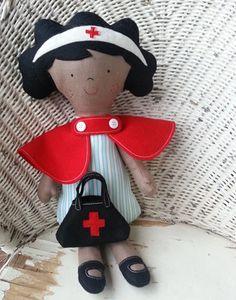 Nurse doll - Pip