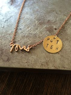 I Want to Marry Harry (Potter) Necklace