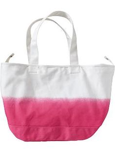 Women's Dip-Dye Canvas Totes | Old Navy