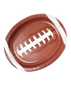 Another great find on #zulily! Tailgate Rush Football-Shaped Plate - Set of 16 #zulilyfinds