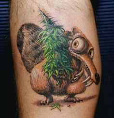 ... Marijuana Tattoo on Pinterest | Weed Tattoo Medical Marijuana and