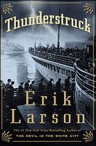 'Thunderstruck' by Erik Larson tells the parallel stories of Guglielmo Marconi, inventor of the wireless telegraph, and Hawley Crippen, a homeopathic doctor in turn-of-the-century London. It's a fascinating and true page-turner that reveals the full story only near the end of the book.
