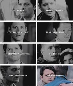 Quote from allegiant by Veronica roth Supernatural Destiel, Castiel, Destiel Twist And Shout, Winchester, Falling In Love With Him, I Fall In Love, Spn Memes, Jung Suk, Great Love Stories
