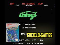 NES Gameplay #9 - Galaga (Nintendo classic mini)