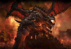 World of Warcraft: Cataclysm Art & Pictures,  Deathwing the Destroyer 3
