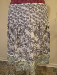 Mac Jac Skirt Silk Blend Size 8   eBay