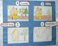 rubrics for drawing and coloring - Google Search