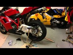 Ducati Chain and Sprockets - YouTube