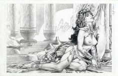 Dejah Thoris and the Green Men of Mars cover issue 5 by Jay Anacleto Comic Art