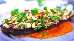 Recept av Paul Svensson | SVT recept Quinoa, Risotto, Beef, Dinner, Ethnic Recipes, Salvia, Food, Eggplants, Meat