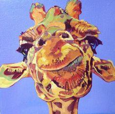 Giraffe by Nancy Stark