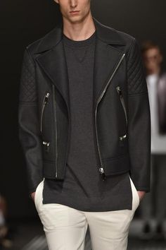 Neil Barrett 2015 | Men's Fashion | Menswear | Men's Outfit for Spring/Summer | Casual with Style | Moda Masculina | Shop at designerclothingfans.com