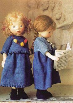 sweet Elizabeth Pongratz dolls