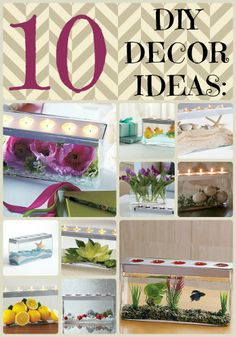 10 DIY decor ideas using the same statement piece, the Customizable Tealight Centerpiece by PartyLite® Candles http://www.partylite.biz/legacy/sites/nikkihendrix/productcatalog?page=productlisting.categorycategoryId=58292viewAll=trueshowCrumbs=true