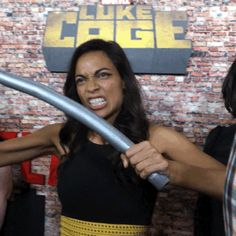 strong rosario dawson grr luke cage red carpet trending #GIF on #Giphy via #IFTTT http://gph.is/2cCDRlQ
