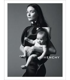 Mariacarla Boscono and Marialucas photographed by Mert & Marcus for the Givenchy S/S 2013 ad campaign