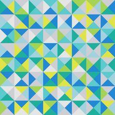 Tissu de coton z lie stora trianglar triangles gris for Moquette jaune moutarde
