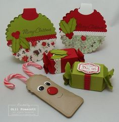 Stampin Up big shot projects
