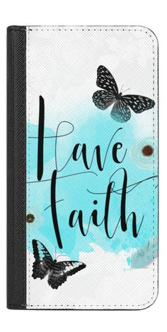 Casetify iPhone 7 Wallet Case - Have Faith by Li Zamperini Art #Casetify