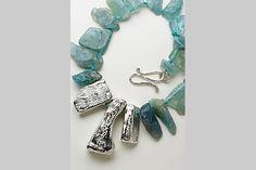 simone micallef : jewellery   Aquamarine and Silver