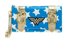 Wonder Woman Satchel Fold Wallet