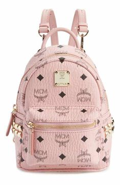 MCM  X-Mini Stark Side Stud  Convertible Backpack Mcm Wallet c24ab31927f7b