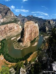 Dinosaur National Monument- Dinosaur, UT.  Hiked there twice in college.  Echo Park is fabulous