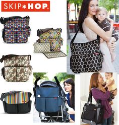 Bolsos maternales. Skip Hop