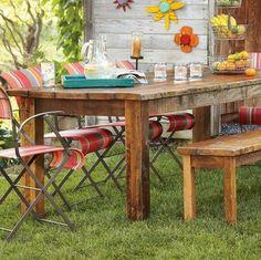 outdoor dining table garden-ideas