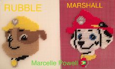 RUBBLE & MARSHALL of Paw Patrol by Marcelle Powell ❤️