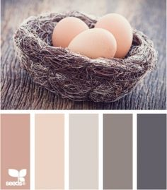 Design Seeds - Nested tones, lovely and soothing Palettes Color, Colour Schemes, Color Combos, Design Seeds, Color Composition, Decoration Palette, Color Palate, Colour Board, World Of Color
