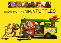 12. Las tortugas Ninja + Little Miss Sunshine.