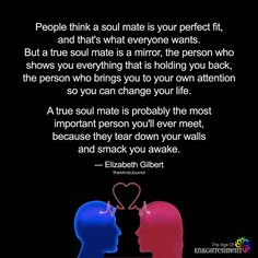 People Think A Soul Mate Is Your Perfect Fit - https://themindsjournal.com/people-think-soul-mate-perfect-fit/
