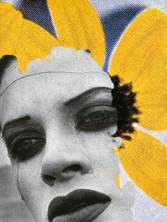 Kristen McMenamy by Peter Lindbergh for Comme des Garçons six, 1990. S)