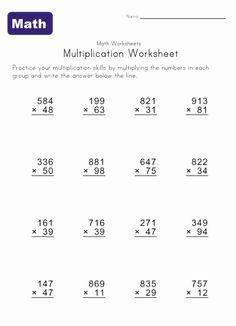 2,3,4 Digit Addition Worksheet 3 Digit, 4 Addend Addition Worksheet ...