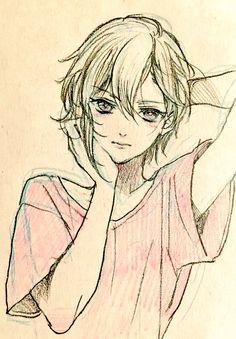 Anime Drawings Sketches, Anime Sketch, Manga Drawing, Manga Art, Art Drawings, Drawing Reference Poses, Drawing Poses, Art Reference, Art And Illustration