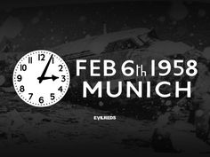 A broken plane, a broken dream A broken heart, a broken team No word said, a silent vow We loved you then, we love you now. #FlowersOfManchester #ForeverRemembered #NeverForgotten #LestWeForget #MunichAirDisaster