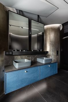Contemporary Bathroom Designs, Riga, Interior Design Inspiration, Double Vanity, Gentleman, Mirror, Kitchen, Furniture, Bath Room