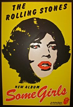 'Some Girls', Rolling Stones Album Cover.