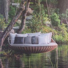 Delightful Outdoor Hanging Lounge Amazing Ideas
