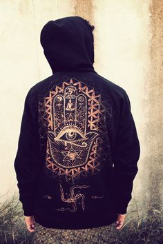fatima swastika hoody hand painted https://www.facebook.com/siamic.crafts