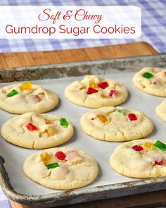 Gumdrop Sugar Cookies image with title text