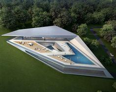 Concept villas for golf and spa resort, Dubrovnik, by Zaha Hadid Architectsarchitectox   architectox