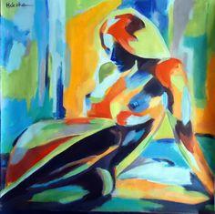 """Saatchi Online Artist: Helena Wierzbicki; Acrylic, 2013, Painting """"""""Dazzling light"""""""""""
